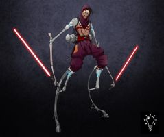 Dark Jedi by Inkthinker