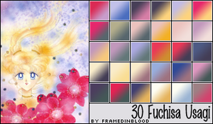 Fuchisa Gradients by PrinceNyanko