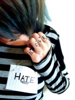 Love Hate II by Red--Roses