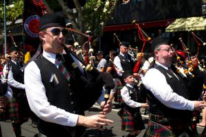 Bagpipe Blowers by Jinnger