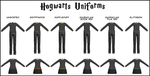 DOWNLOAD: Hogwarts Uniforms by InkedBunny