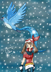 Thank you - May and Articuno by Seiryu6
