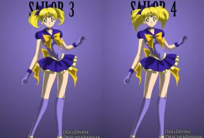 Sailor 3 and 4 by winxJenny