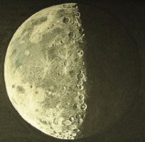 Moon by vanicek