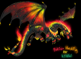 Mysterious Potion Hatchling for Kisini by TheFireGypsy