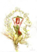 Poison Ivy commission by Kerong