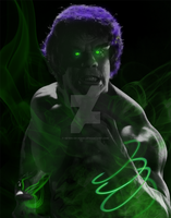 Lou Ferrigno aka 'The Hulk' by SE7EN-OF-N9NE