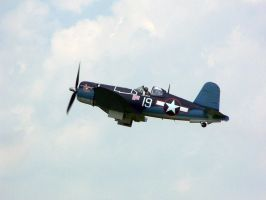 F4U Corsair Take off by zammariangod