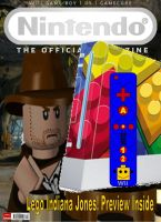 ONM mock cover - Lego Indy by Mario64Luigi