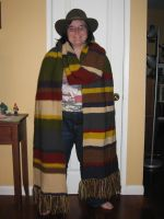 My Doctor Who Scarf by Wolverinegal
