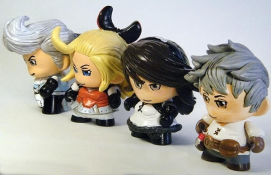 Bravely Default Micro Munny set. by tripled153