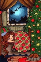 Waiting For Santa by Regs