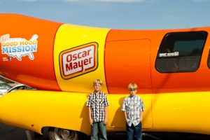Wienermobile and my sons by ShawnHenry
