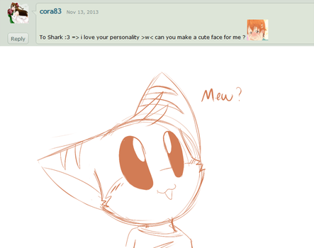 Ask the 'Devivs: Cute Face? by Void-Shark