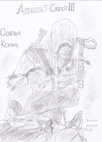 Assassin's Creed III Connor Kenway by Jerzu97