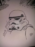 30 Second Stormtrooper by Riala