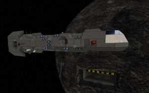 Space Engineers - Freighter Construction Pt.5 by Shroomworks
