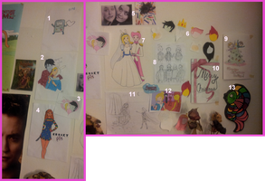Art Wall by AlwaysForeverHailey