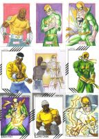 Luke Cage and Iron Fist: Hero For Hire by E-v4ne by Ericdimension