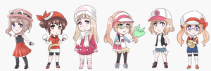 Fem!Allies as Pokemon trainers by maybebaby83