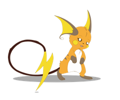 Morana the raichu by Anais-thunder-pen