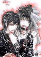 zombie love story XD by QuistisNoir