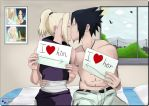 L.O.V.E  ~ SasuIno ~ by PurpleRose77