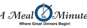 A Meal in Minutes Logo by dragonorion