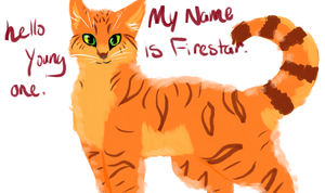 Firestar Loves Kits by XxSoaringHeartxX