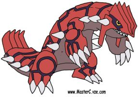 Groudon by MCR3240ca