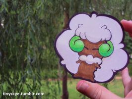 Whimsicott by TinySkye