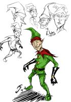 Elf concepts by Raikoh101