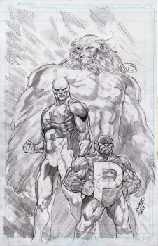 Pacquiao, Space Ghost, Chewy by BienFlores