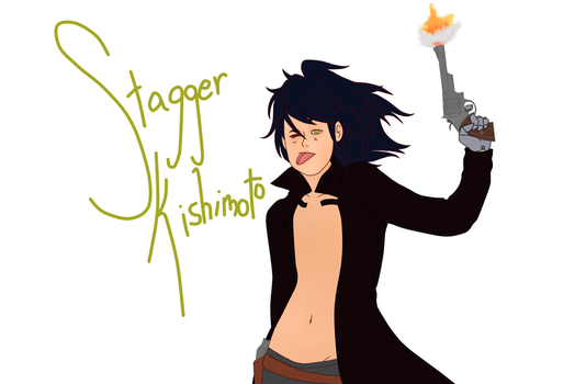 Stagger Kishimoto Request by ceruleancrayons