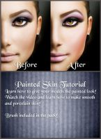 Painted Skin Tutorial by FP-Digital-Art