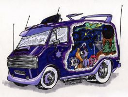 Brony Fan Van by Sketchywolf-13