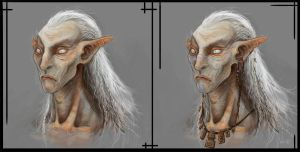 Elder Elf Faces by Parkhurst