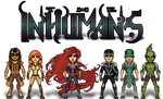 The Inhumans by haydnc95