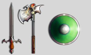 Weapon Designs by kovah
