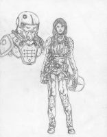 Tracy Freeman pilot concept by philorion7