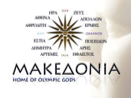 MACEDONIA by etymon