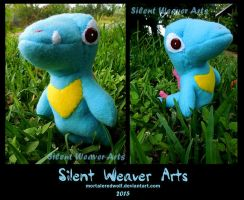 Totodile Plushie by MortaleRedWolf