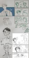 spn sketchdump by MegX78