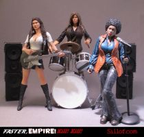 Faster Empire Strike Strike - The Band by sillof