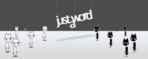 Just a Word dualscreen ver. by wasdR