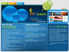 indzayn website by ayeb