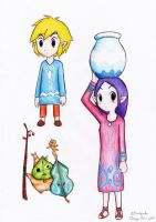 Wind Waker pics by Laphyn