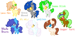 Chibi Pony Adopt (OPEN) by Peppermint-Breeze