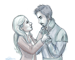 Random captain swan by ShinrinRei739