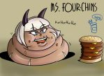 Ms. Four-chins by RoyalJellySandwich